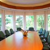 Hospice of Hilo Conference Room. Finish selections and furniture selections by Adrienne Carlin Oliver, interior design